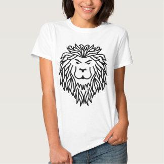 Leão tribal tshirts