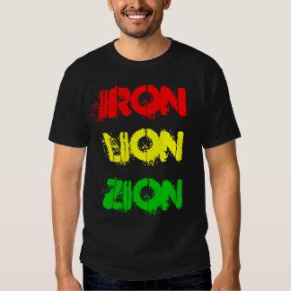 LEÃO ZION do FERRO (camisa) Camisetas