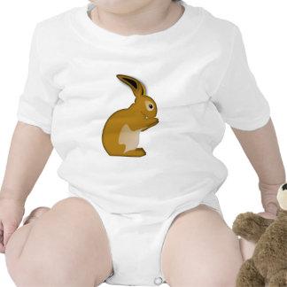 Lebre rabbit macacãozinho para bebê