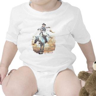 legado do vaqueiro macacãozinho para bebê