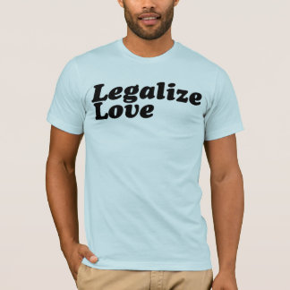 Legalize a camiseta do amor