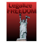 Legalize a liberdade poster