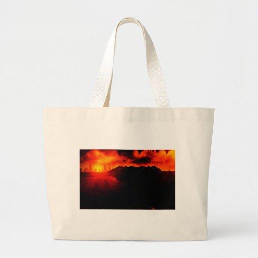 Legenda da mercadoria principal bolsa de lona