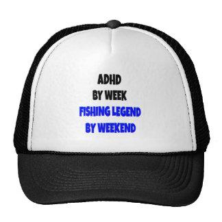 Legenda da pesca de ADHD Boné