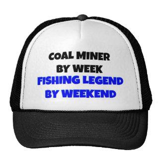 Legenda da pesca do mineiro de carvão boné
