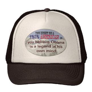 legenda de obama em própria mente boné