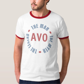 Legenda do mito do homem de Avo customizável Camiseta