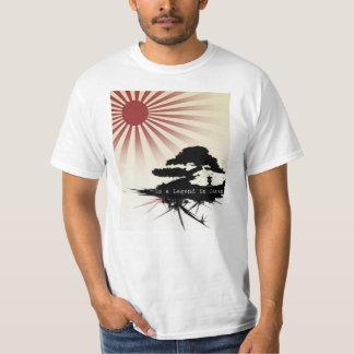 legenda em japão camiseta