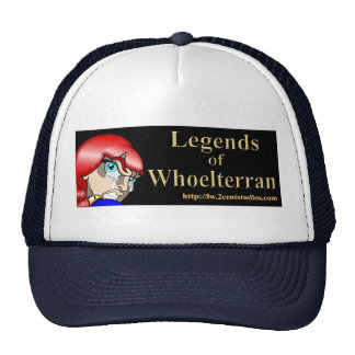 Legendas do chapéu de Whoelterran (Norry) Bonés