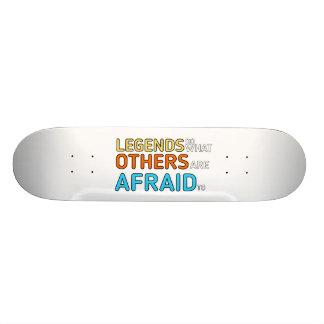 Legendas + Skate das cores