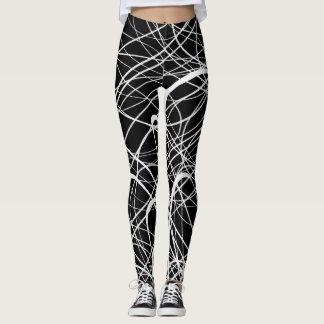 Legging Abstract1 lineares - Caneleiras