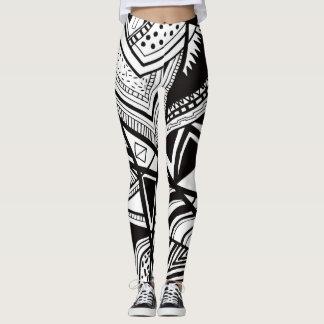 Legging Abstrato