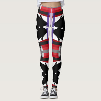 Legging Abstrato do Teahouse