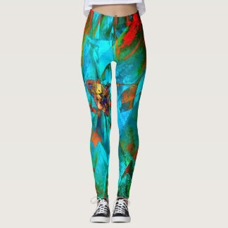 Legging Abstrato geométrico