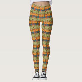 Legging African Women - Power yoga Ir
