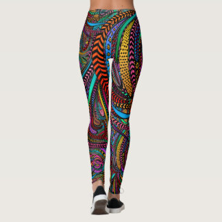 Legging Algo mais cantar sobre caneleiras da forma do pop