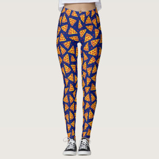 Legging Amantes da pizza de Pepperoni