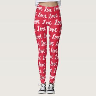 Legging Amor do VERMELHO |