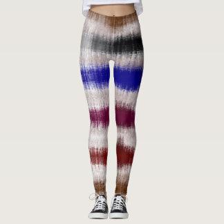 Legging arte abstracta