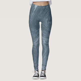 Legging AURA de RODA AZUL por Slipperywindow