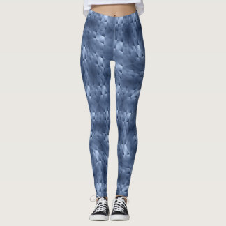 Legging Azul Meandering