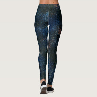 Legging Azul salpicado