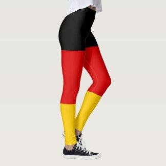 Legging Bandeira alemão patriótica