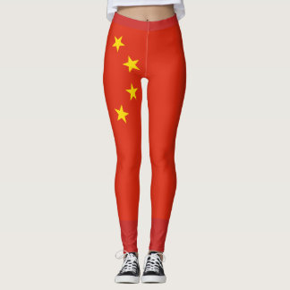 Legging Bandeira da República Popular da China - 中华人民共和国国旗