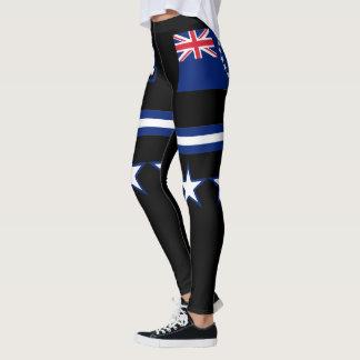 Legging Bandeira das Ilhas Cook
