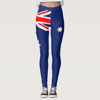Legging Bandeira de Austrália