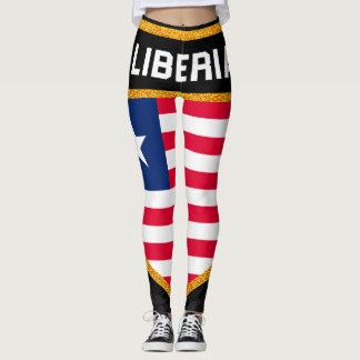 Legging Bandeira de Liberia