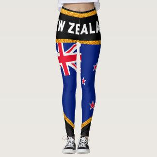 Legging Bandeira de Nova Zelândia