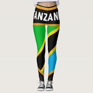 Legging Bandeira de Tanzânia