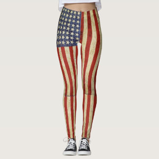 Legging Bandeira do sonho americano
