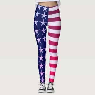 Legging Bandeira dos Estados Unidos