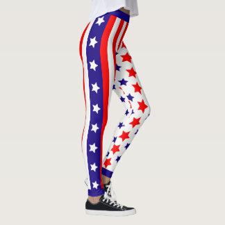 Legging Bandeira dos Estados Unidos dos EUA