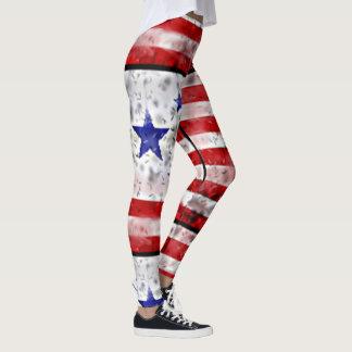 Legging Bandeira dos EUA
