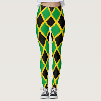 Legging Bandeira jamaicana telhada