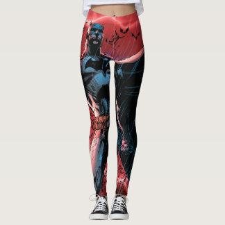 Legging Batman | Batman & pisco de peito vermelho, a