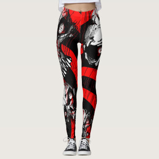 Legging Bigskull_leggings de ZOMBIFIED_