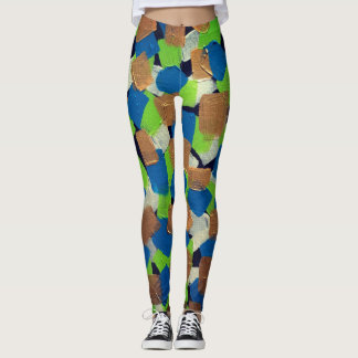 Legging Blocos de divertimento