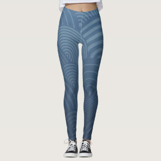 Legging Blue Water - Power yoga Ir