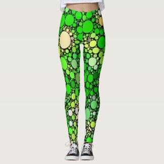 Legging Bolhas de Zazzy, verdes