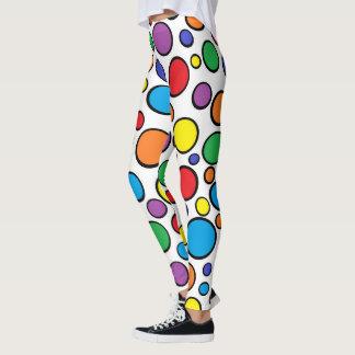 Legging Bolinhas coloridas