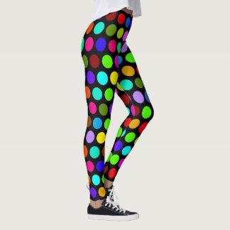 Legging Bolinhas grandes coloridos
