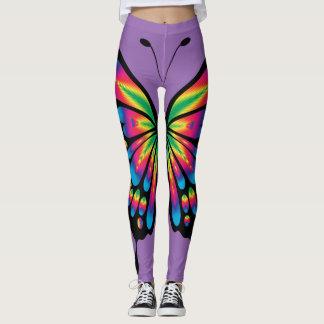 Legging Borboleta do arco-íris