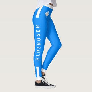 Legging Bordo canadense de Bluenoser no azul