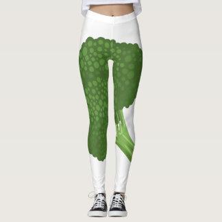 Legging Brócolos da comida do pulso aleatório