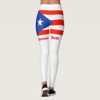 Legging Bumbum de Boricua! Bandeira porto-riquenha 4Julia