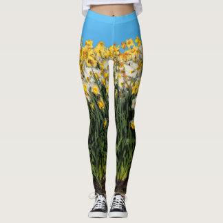 Legging Cama bonita dos Daffodils
